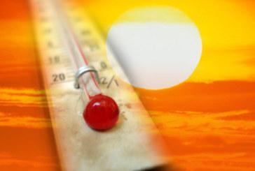 Слънце и жега и днес