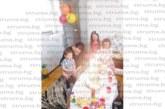Гастроентерологът д-р Чаушева изненада сина си Мехмед с торта с Мики Маус за ЧРД