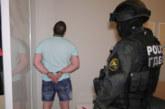 Първи СНИМКИ от ареста на страшната банда за рекет и изнудване