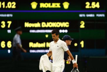 """Джокович на финал на """"Уимбълдън"""" след епичен мач с Рафа Надал"""