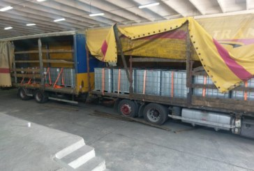 УДАР НА КУЛАТА! Не пуснаха камион с 21 000 литра нелегален спирт, далаверата за 200 бона
