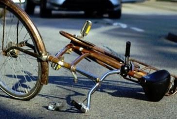 Велосипедист от Мосомище се изпотроши