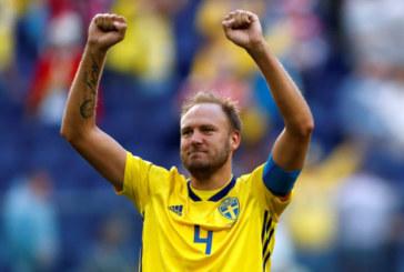 Шведският капитан пропусна раждането на детето си