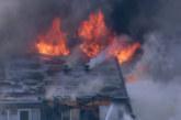 Огнен ужас! Огромен пожар бушува в Чикаго, карат ранени в болниците