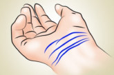 Колко линии имате на китката си? 3 или 4? Проверете и разберете какво означава това!