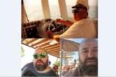 Любо Нейков на яхта в Гърция