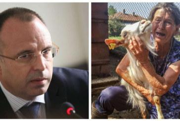 Министър Порожанов: Предложихме ново стадо на баба Дора, тя отказа