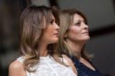 Мелания Тръмп и Десислава Радева се забавляват в Белгия