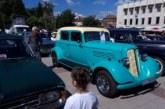 Ретро возила паркираха в Дупница