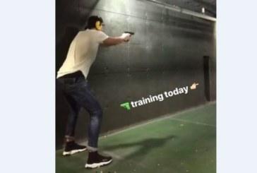 Бербо се учи да стреля