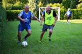 Ап. Апостолов събра в двора си кметове и общински съветници от Симитли, поляха на маса атрактивна футболна битка