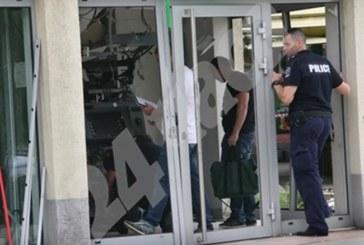 150 000 лв. задигнати от взривения банкомат в Пловдив