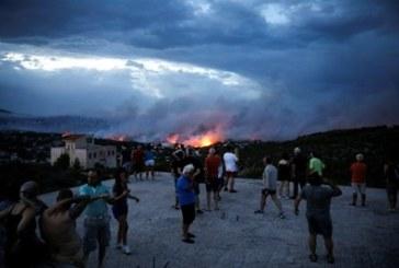 Трагедия! Над 50 са жертвите на пожара край Атина, 10 са с опасност за живота
