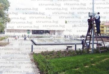 Тестваха пеещия фонтан пред кюстендилската галерия