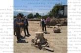 Министър Банов инспектира разкопките на Хераклея Синтика край Рупите