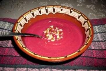 Крем супа от червено цвекло и тиква