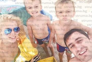 Волейболната звезда Цветан Соколов хвърли патериците и се отдаде на морски релакс