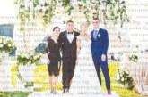 """10 г. след запознанството си строителен предприемач и лекарка вдигнаха пищна сватба с 400 гости в парк """"Македония"""""""