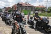 """С рев на мотори """"Нощните вълци"""" на Путин разтърсиха Кюстендил"""