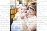 Семейството на петричка учителка отбеляза двоен празник – кръщене и рожден ден на първородната им дъщеричка