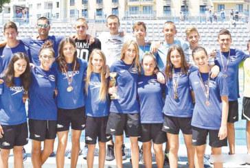"""Плувни надежди на """"Пирин"""" и """"Сандански"""" с национални рекорди, титла и 5 медала за """"GD Sport"""""""