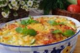 Тиквички, картофи и гъби на фурна