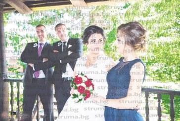 Гайдарят от Банско Ж. Михайлов се ожени за славея на народното пеене Н. Александрова
