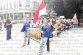 """Игрохорци от Мексико до Грузия пристигнаха за фестивала """"Сребърна пафта"""" в Кюстендил"""