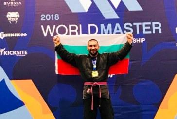 ТРИУМФ! Петричанинът Николай Николов е първият световен шампион по бразилско жиу-жицу за България