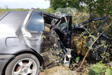 Шофьорът на благоевградския автомобил оцеля в кървавото меле край Поповица /СНИМКИ/