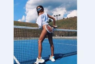 На почивка в Разлог! Николета разголена и на тенис корта