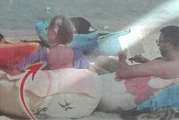 Хекимян се ошишка, тресе коремче и паласки на море с мама