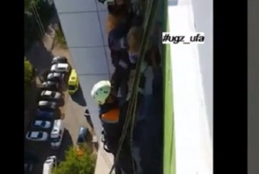 Ето как спасиха 3-г. момиче, озовало се на покрив заради безотговорен баща