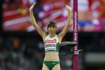 Мирела Демирева на финал на Европейското