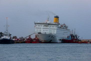 Пожар избухна на гръцки ферибот с 1000 души на борда