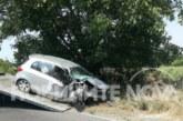 Вижте снимки от мелето с благоевградския автомобил, при което загинаха момче и момиче