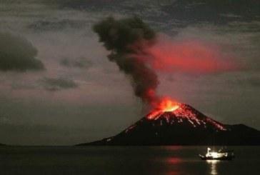 Вулкан изригна в Индонезия