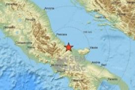Земетресение разтърси Италия