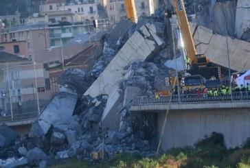 Прекратиха издирването на хора след рухването на моста в Генуа