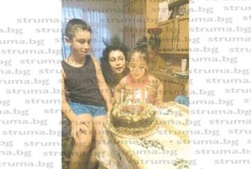 Дупнишката актриса В. Сумева празнува рожден ден в компанията на внучетата