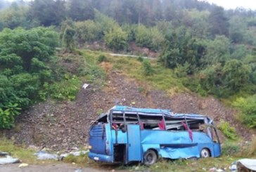 Вижте катастрофата край Своге, снимана от дрон /ВИДЕО/