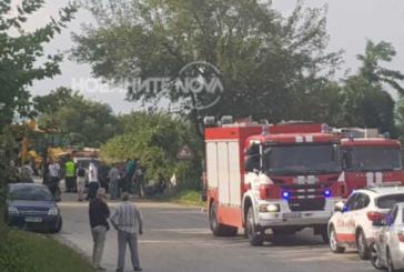 След катастрофата с пожарната кола: Няма опасност за живота на ранените огнеборци