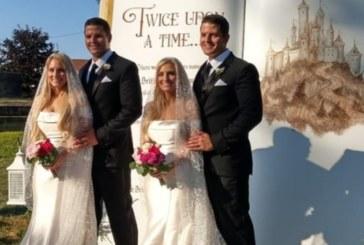 Близначки се омъжиха за близнаци