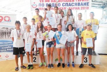"""""""GD Sport"""" с 2 купи и 28 медала на водно спасяване край Варна"""
