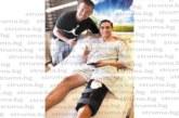 Любимият на фолкфурията Лорена разчувства приятеля си от детинство, футболиста  М. Александров, посети го в германска клиника
