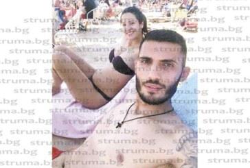 Петричкият футболист Джаич показа бременното коремче на половинката си