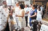 30 години след сватбите кумове и кумашини от Гоце Делчев се венчаха, децата им бяха шафери