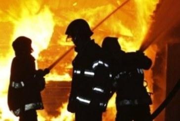 Жена оцеля по чудо в огнен ад в Сенокос, покъщината й изпепелена