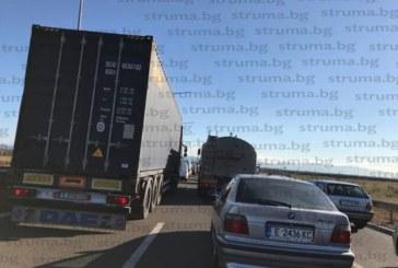 Адско задръстване! Стотици шофьори от Югозапада в капан на северната тангента в София