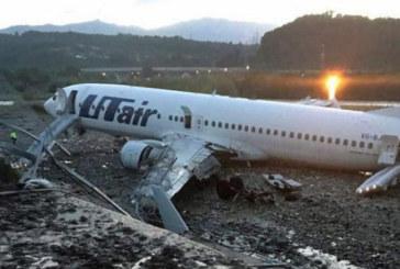 Тежкък самолетен инцидент на летището в Сочи, има загинал